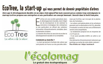 EcoTree, la start-up qui vous permet de devenir propriétaire d'arbres